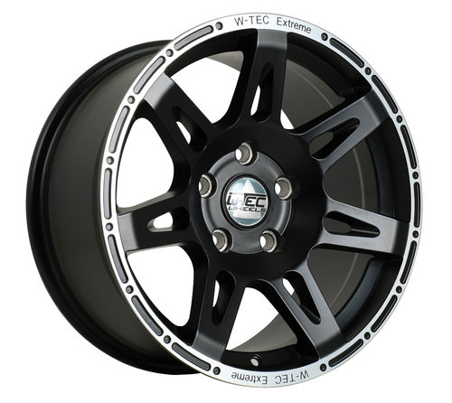4x Alufelge W-Tec Extreme 8,5x17 ET+30 Jeep Grand Cherokee WH (2005 bis 2010)